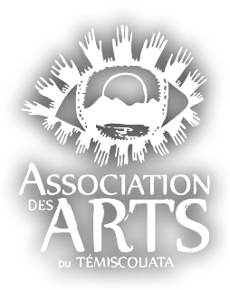 logo association arts blanc